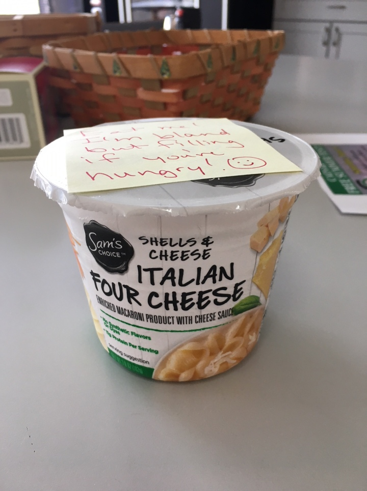 Italian Four Cheese shells and cheese