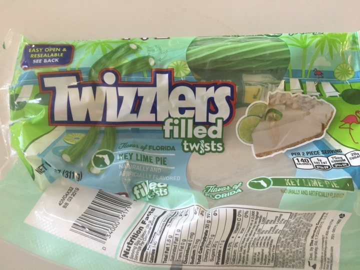 Key Lime Filled Twizzlers