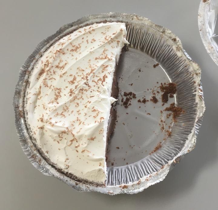 Half of a pie