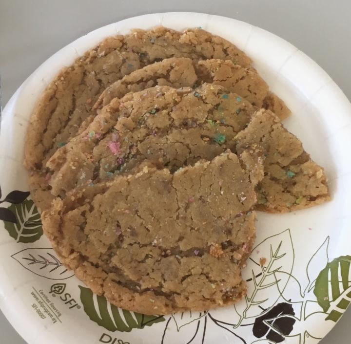 Pre-halved cookies