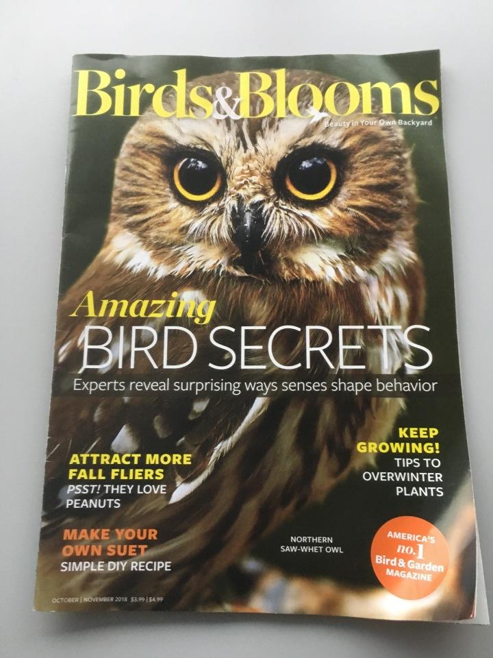 Issue of Birds & Blooms magazine